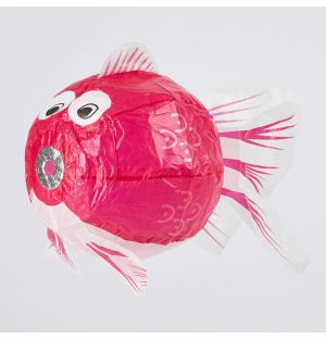 Japanese Paper Balloon Pink Fish