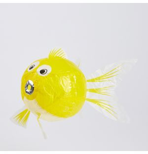 Japanese Paper Balloon Yellow Fish