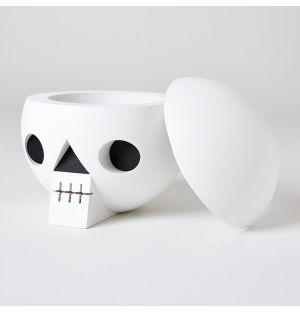 Kranium Skull Box White