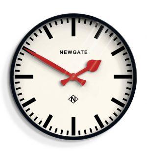 Putney Wall Clock Black