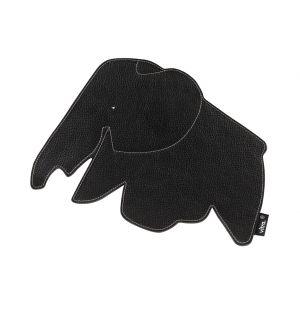 Elephant Mouse Pad Black
