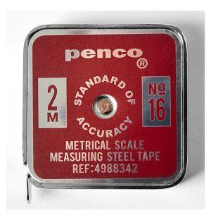 Penco Pocket Tape Measure Red