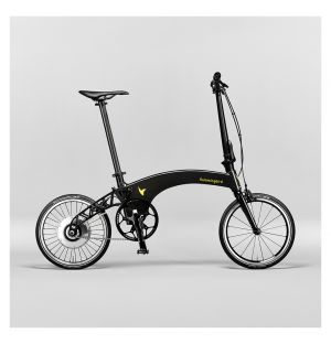 Folding Visual Electric Bike in Carbon