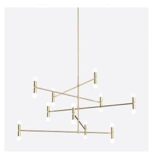 Dot 14 C Pendant Light Brass