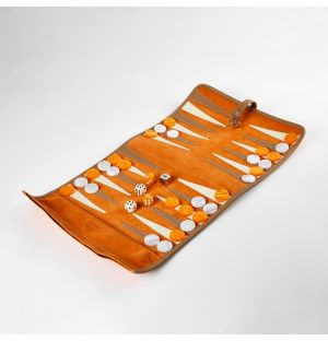 Backgammon Roll Orange