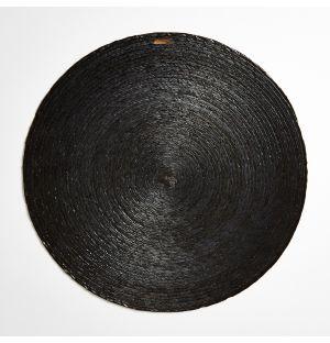 Round Placemat Carbon 38cm