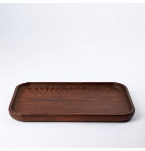 Pure Rectangular Tray Wood