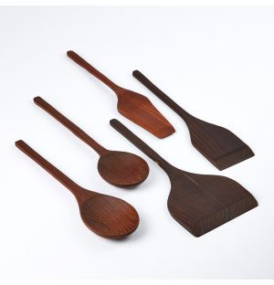 Pure Kitchen Tools Wood Set of 5
