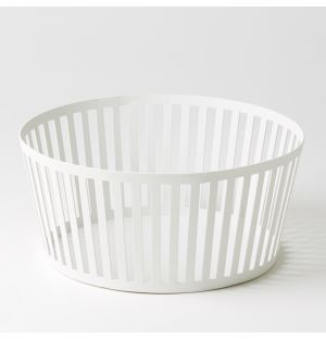 Tower Fruit Basket White Deep