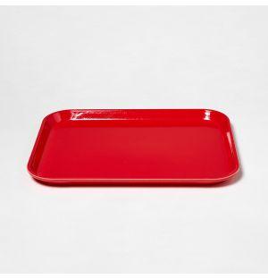 Rectangular Tray Red Medium