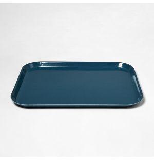 Rectangular Tray Slate Blue Large
