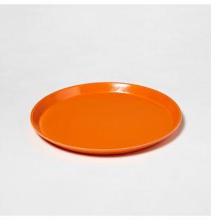 Circular Tray Orange Small