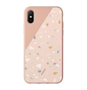 CLIC Terrazzo iPhone X/XS Case Rose