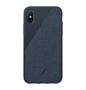 CLIC Canvas iPhone X/XS Case Navy