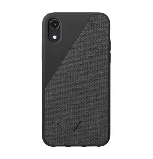 CLIC Canvas iPhone XR Case Black
