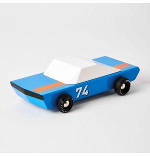 Blue Racer Car