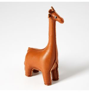 Giraffe Paperweight in Tan