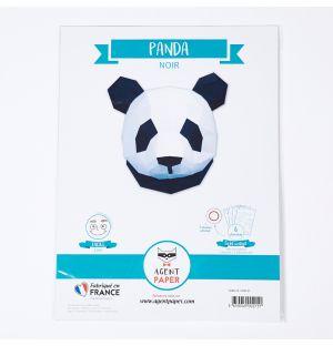 3D Paper Panda Trophy Head