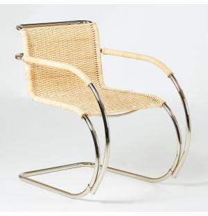 D42 Armchair Natural Cane