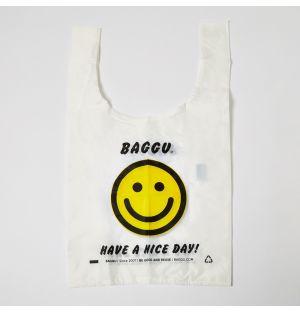 Reusable Tote Bag Happy