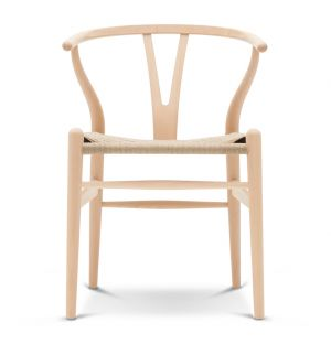 CH24 Wishbone Chair Soaped Beech & Natural Paper Cord Seat