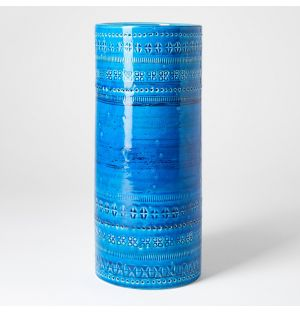 Rimini Blu Cylinder Vase
