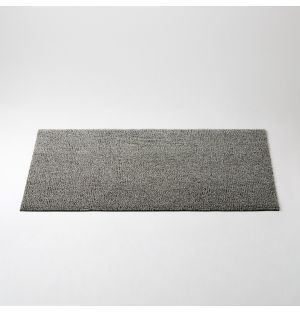Shag Heathered Doormat Fog