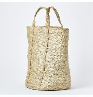 Round Basket Natural Small
