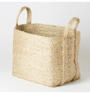 Square Basket Natural Small
