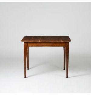 Vintage Bistro Table Oak c.1880