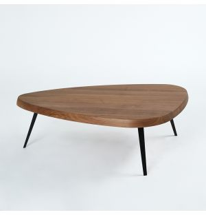 527 Mexique Coffee Table Walnut & Black