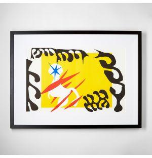 'Le Cauchemar d l'Eléphant Blanc' Framed Print