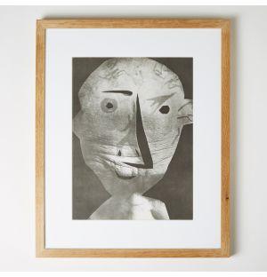'L'Esprit Critique d'Art' Framed Print