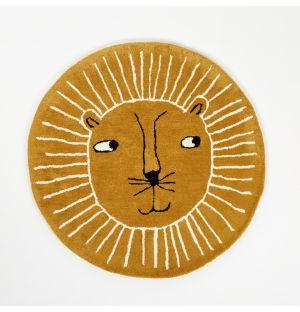 Lion Rug Caramel