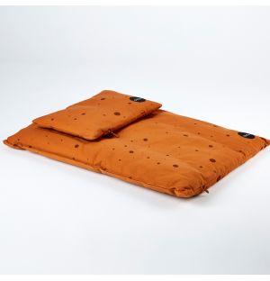Children's Dot Bedding Caramel Junior