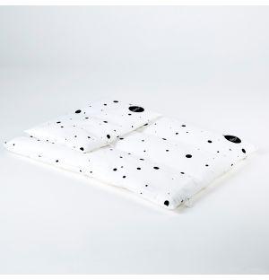 Children's Dot Bedding White Junior