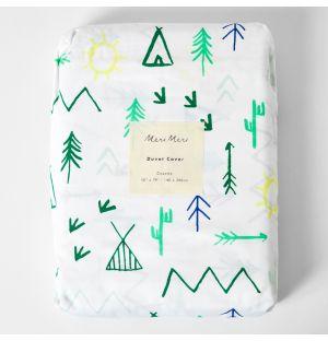 Children's Campground Single Duvet Cover