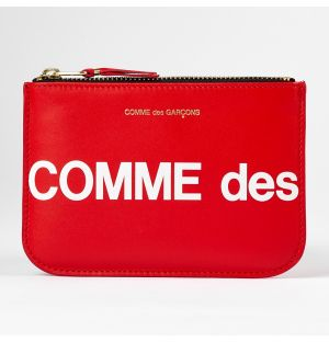Huge Logo Coin Purse Red