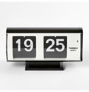 QT-30 Flip Clock Black