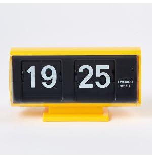 QT-30 Flip Clock Yellow