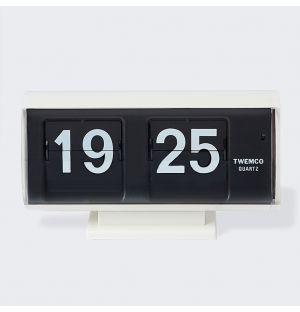 QT-30 Flip Clock White