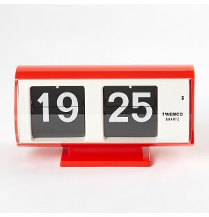 QT-30 Flip Clock Red