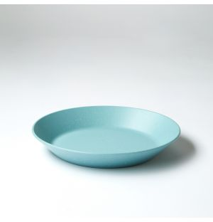Pebble Deep Plate Matte Green 21.5cm