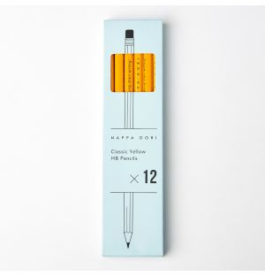 Classic Pencils Set of 12 Yellow