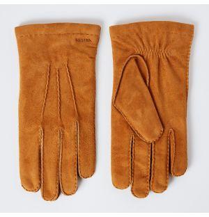 Men's Arthur Suede Gloves Tan Size 11