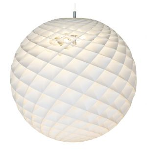 Patera Pendant Light White 60cm