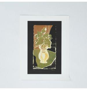 Georges Braque 'Feuilles, Couleur Lumière' Poster