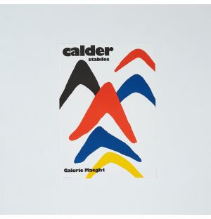 Alexander Calder 'Stabiles' Poster