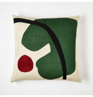 Marlie Cushion Cover Green 45cm x 45cm