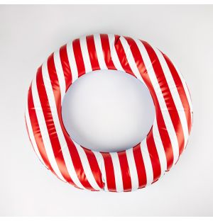 Inflatable Ring Red Stripes